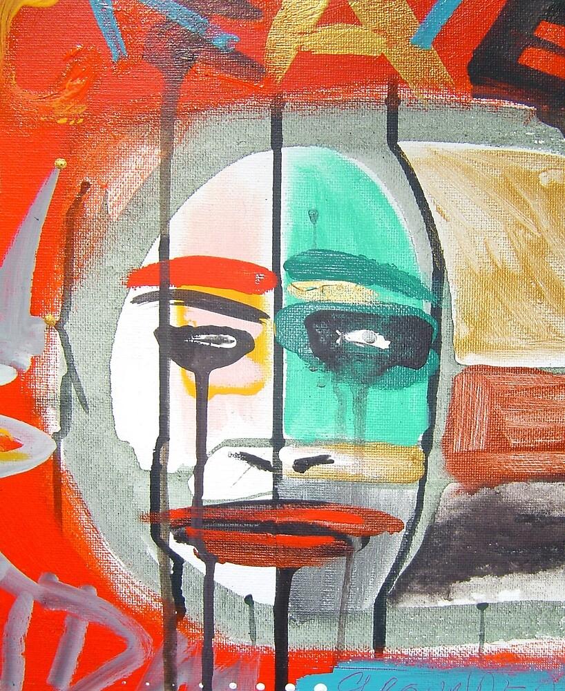 clown kachina by arteology