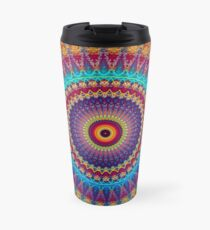 Fire and Ice Mandala Travel Mug