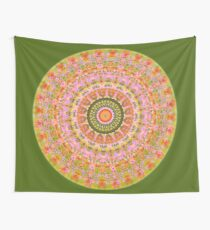 Happy Hippy Mandala Wall Tapestry