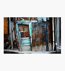 Falling Door Photographic Print