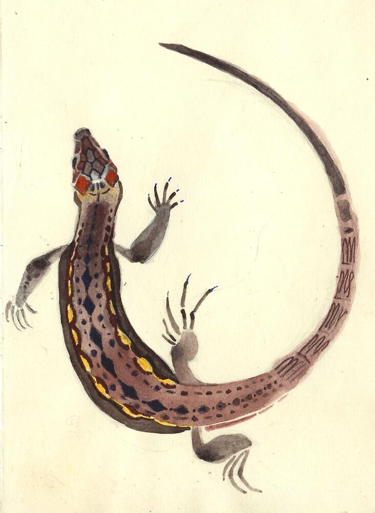Little lizard by Unita-N