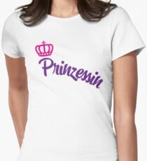 Prinzessin Womens Fitted T-Shirt