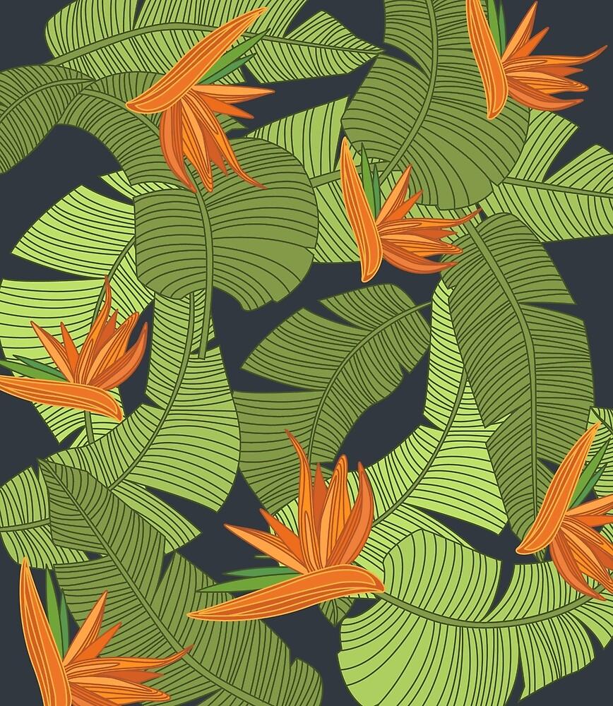 Banana leaf texture by topvectors