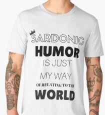 Sardonic Humor - Jughead - Riverdale Men's Premium T-Shirt