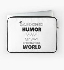 Sardonic Humor - Jughead - Riverdale Laptop Sleeve