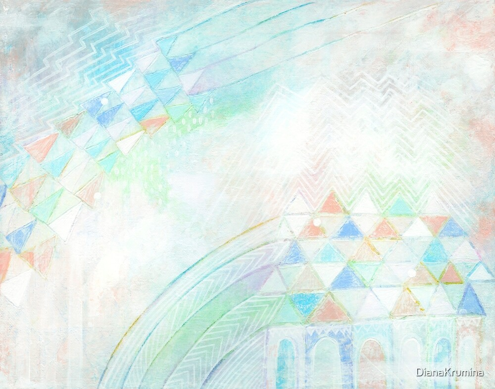 Abstract art Contemporary Modern art Room decor Pastel colors by DianaKrumina