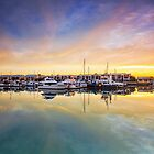 Marina Morning - Cleveland Qld Australia by Beth  Wode