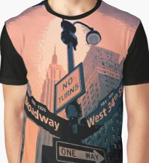 Broadway - New York City Graphic T-Shirt