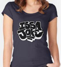 Issa Joke Women's Fitted Scoop T-Shirt