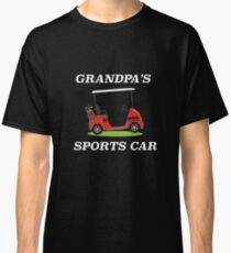 """Grandpa's Sports Car"" Golf Cart  Classic T-Shirt"