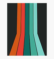 Far Out - 70's style trendy throwback retro gifts 1970s abstract art by Seventy Eight Photographic Print