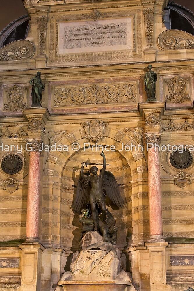 Historic Fontaine Saint-Michel © by © Hany G. Jadaa © Prince John Photography