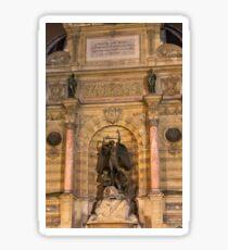 Historic Fontaine Saint-Michel © Sticker