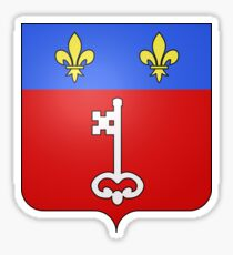 Angers coat of arms Sticker