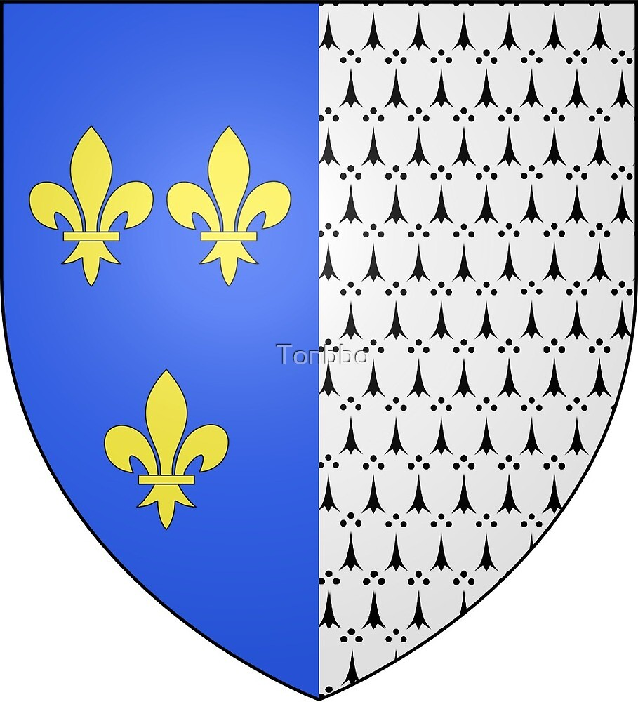Coat of Arms of Brest, France by Tonbbo
