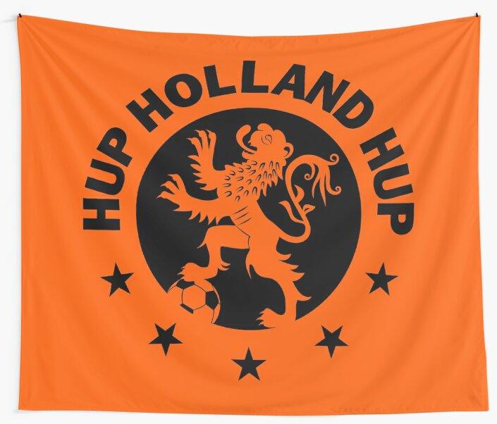 Hup Holland Orange Dutch Soccer Lion Netherlands Football by superdazzle ... 91d5033dc