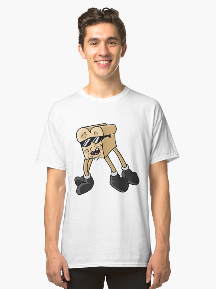 Bread man Classic T-Shirt Front