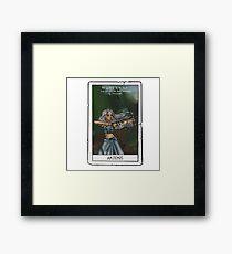 Artemis tarot card Framed Print