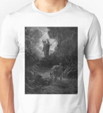 Adam and Eve Driven out of Eden- Gustave Dore Unisex T-Shirt