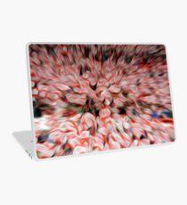 Austrian football fans abstract oil paint effect. Laptop Skin