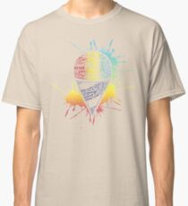 Snow Cone - Summer Typography Art Classic T-Shirt