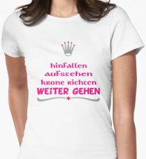 lustiger Spruch Womens Fitted T-Shirt