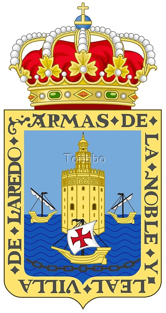 Laredo coat of arms, Spain by Tonbbo