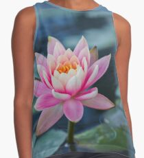 Pink water lily Contrast Tank