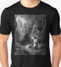Gustave Dore - Jesus suffers agony in the garden of Gethseman Unisex T-Shirt