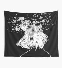 Galaxy Girl Wall Tapestry