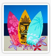 Colorful Surfboards  Sticker