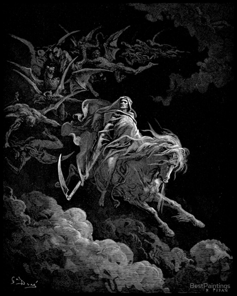 Gustave Dore - Death on the Pale Horse resized by BestPaintings