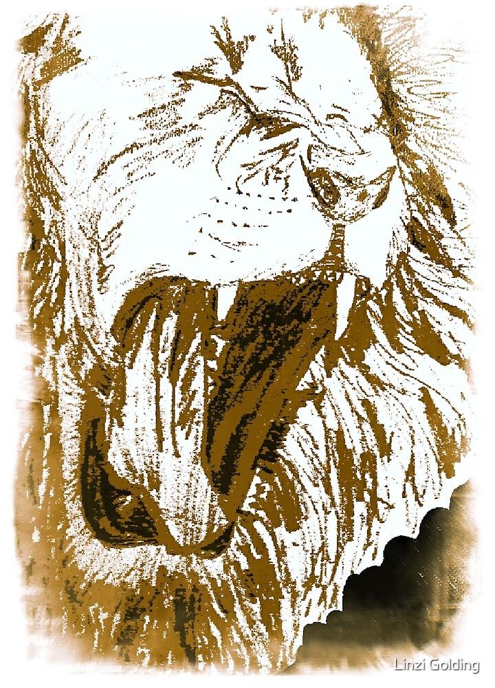 Triumphant Judah - Gold by artistwarriorlg