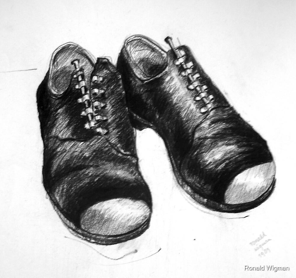 Shoe portrait 01 by Ronald Wigman