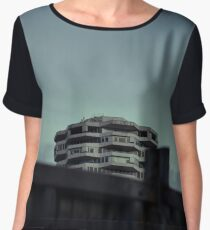50 Pence ... Behind The Fence Women's Chiffon Top