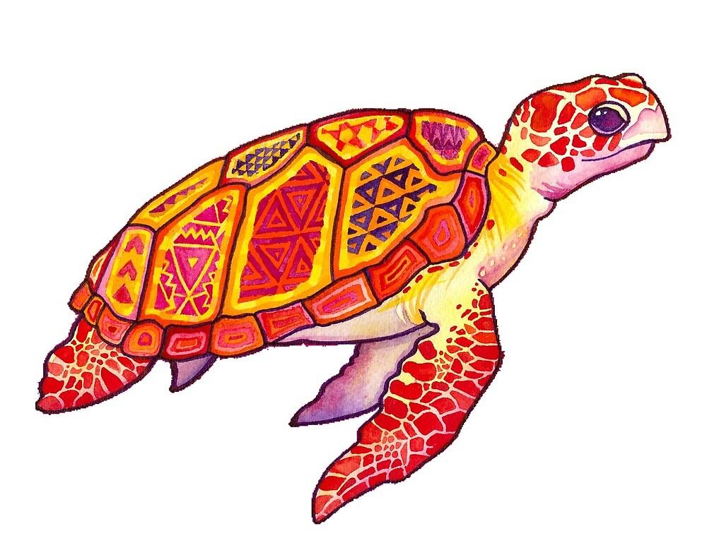 Trippy Turtle by jensgill