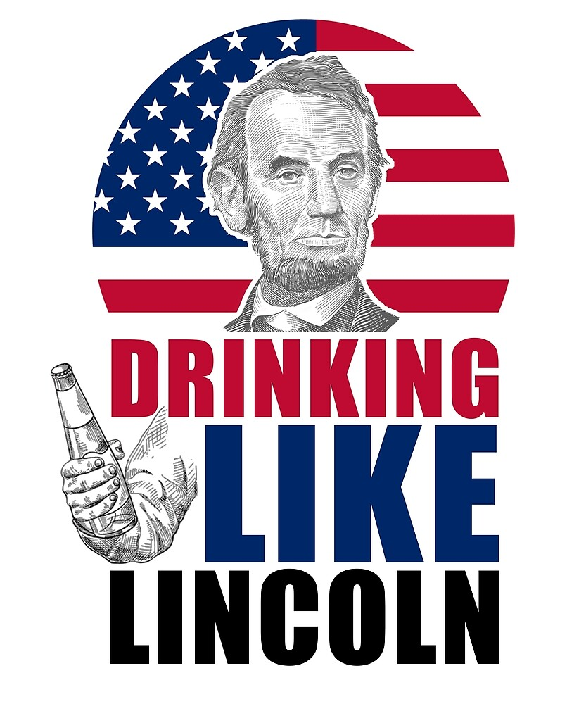 Drinking Like 4th of July Independence Day T-Shirts by sondinh