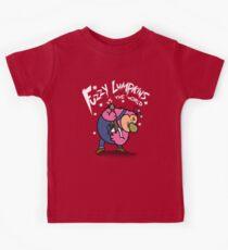 Fuzzy Lumpkins vs the world Kids Tee