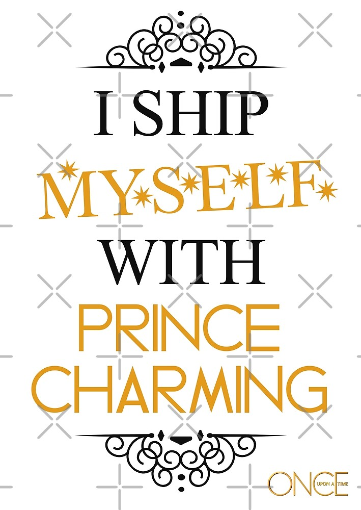 I ship myself with Prince Charming by AllieConfyArt