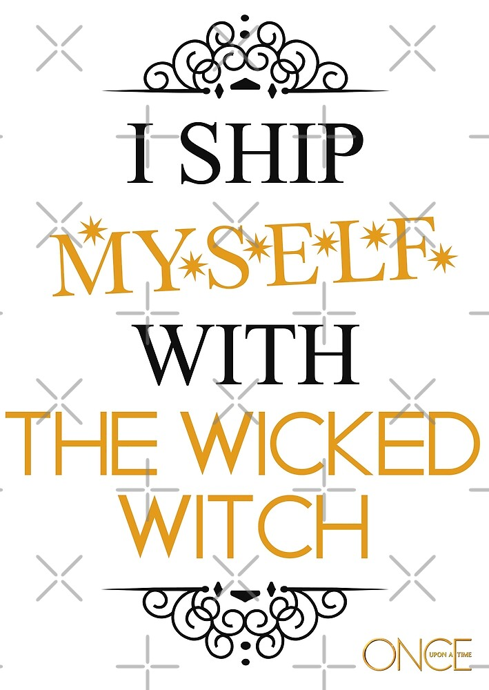 I ship myself with the Wicked Witch by AllieConfyArt