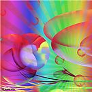 Be Happy -  Abstract35 Art + Products Design  by haya1812