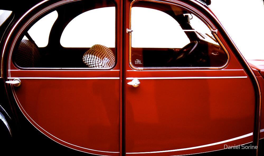 France's famous 2 CV car. by Daniel Sorine