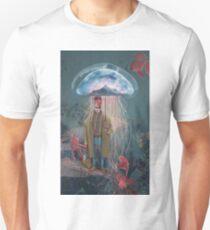 Johnny Eels - The Dapper Under Water Jellyfish Umbrella Man Unisex T-Shirt