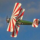 Avro Tutor K3241 G-AHSA banking by Colin Smedley