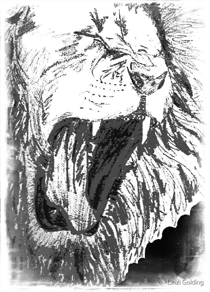Triumphant Judah - Grey by artistwarriorlg