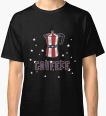 4th of July Covfefe Patriot Coffee Espresso Trump Classic T-Shirt