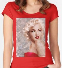 Marilyn Danella Ice Women's Fitted Scoop T-Shirt