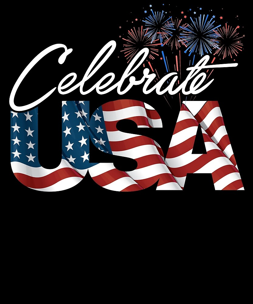 Funny Celebrate USA Patriotic Independence Day T Shirt by sondinh