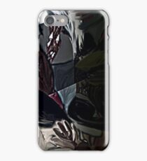 Devil in my head iPhone Case/Skin