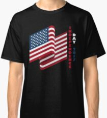 USA Flag Independence Day 2017 T Shirt 4th of July Classic T-Shirt